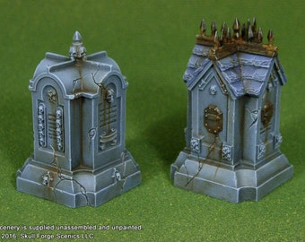 ROADSIDE SHRINES (Set of 2)