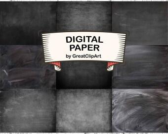 9 Chalkboard Digital Paper,Chalkboard Backdrop,Printable Background,Chalkboard Scrapbook Paper,Chalkboard Background,scrapbooking paper