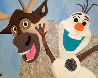Olaf and Sven(Frozen)