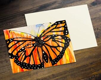 Monarch Butterfly - Postcard (A6)