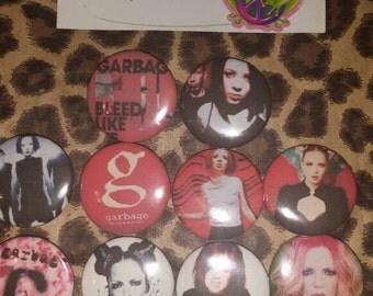 Garbage button set 10