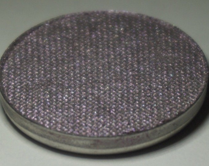 Ophiucus Pressed Eyeshadow - Smokey Silverish Base with Violet Duochrome Shift