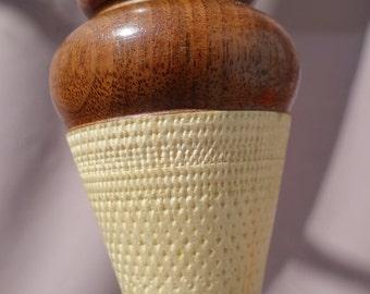 Icecream cone bottle stoper
