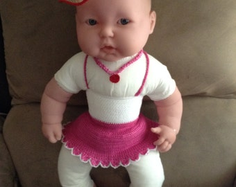 Dressing  and accessors for dolls, baby's and girls