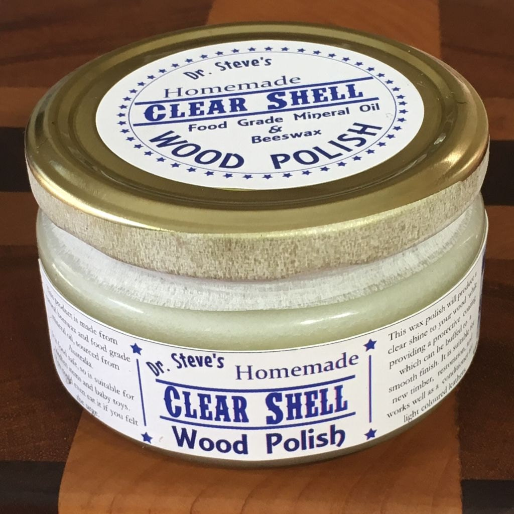 Beeswax mineral oil wood polish homemade by for Homemade furniture polish mineral oil