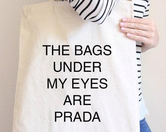 Fun Tote Bag, Slogan Tote Bag, Tote Bag, Canvas Bag, Canvas Tote Bag, Natural Canvas Tote Bag, Bag for Shopping