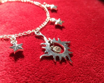 Celestial Sun Charm Bracelet