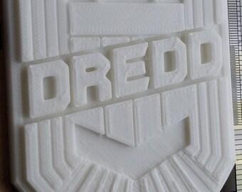 Judge Dredd badge/shield