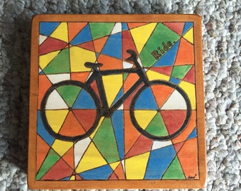 Bicycle plaque