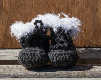 Beautiful Baby Booties