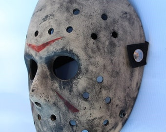 Friday the 13th mask inspired