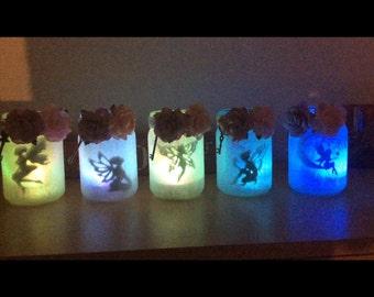 Fairy LED light up Jars