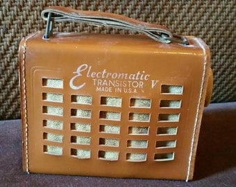 Vintage electromatic transistor