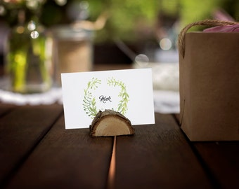 Printable Place Cards for Wedding, Bridal Shower, Birthday Party, Wedding Reception, Etc