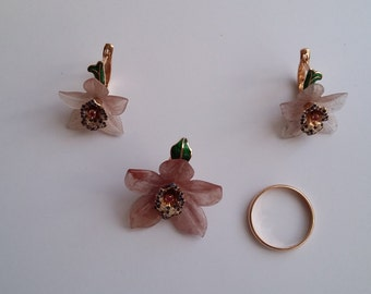 "Jewerly Sets ""Orchid"""