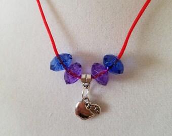 10 Pieces - Apple Necklaces