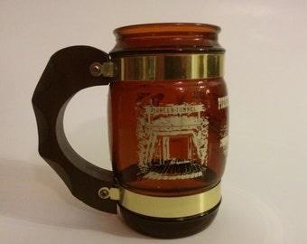 Vintage Souvenir Pioneer Coal Mine Siesta War Mug Ashland, Pennsylvania