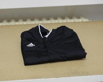 Adidas_button sweatshirt