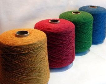 1 Baby Alpaca Yarn 2lbs Cone - Color of your choice