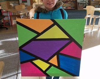 Custom Painted Canvas