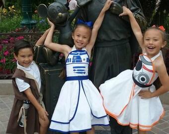BB8 Inspired Dress