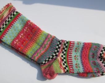 Fair Isle socks Abana Gr. 38 / 39