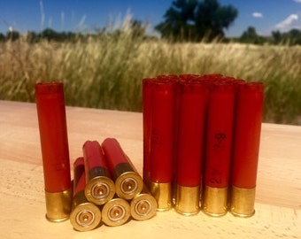 Empty Shotgun Shells 20 Lot Red with Brass Base Remington AA .410 Gauge 2.50''