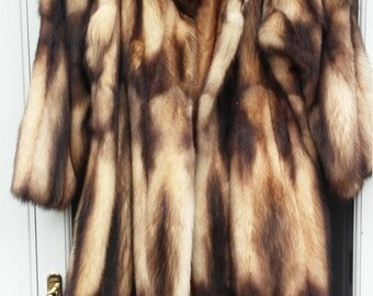 Natural Fur Coat MXL