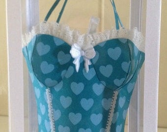 3D Corset-Bag card and presentation box,18th,21st,30th birthday, Special Occasions,Keepsakes.