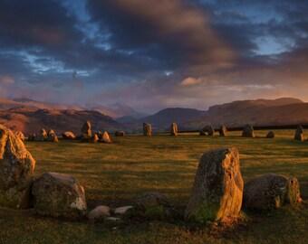 Castlerigg Stone Circle  --  Landscape Photography by M J Turner