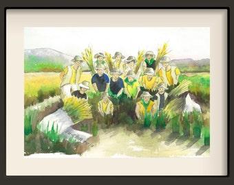 No-4 Harvesting Crops