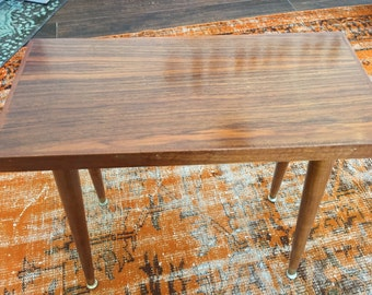 SMALL MID CENTURY Wood Table
