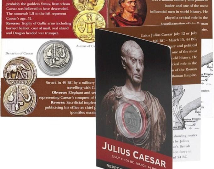 julius caesar military and political strength