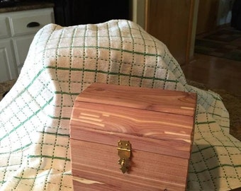 Cedar chest, jewelry box