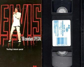 ELVIS '68 Comeback Special - VHS -1968 - TV - Live Concert.