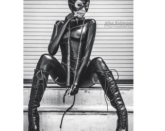 Catwoman - Cosplay Print or Poster