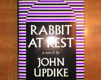 1990 First BOMC Edition John Updike Rabbit at Rest Vintage Book