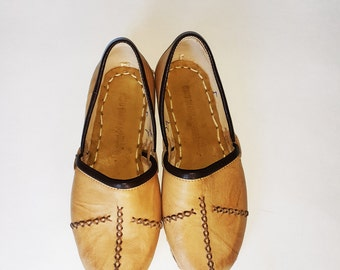 Handmade Women's (Yemeni) Shoes, Leather Shoes, Cowhide Shoes, Stylish, Now %25 Off