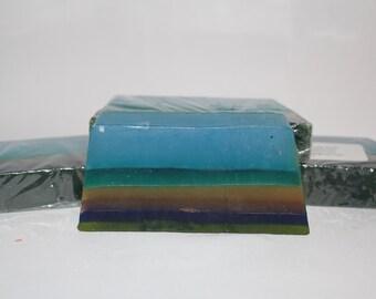 Rainbow Vanilla Glycerin Soap