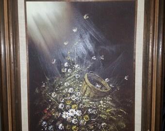 Painting Original Flower Bouquet (4)