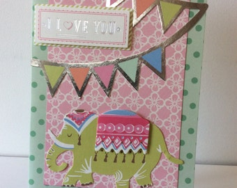 Cute cards for kids using the Anna Griffin Collectiom
