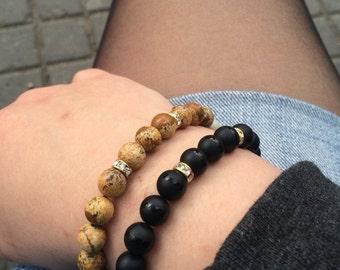 Fine stone bracelets