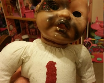 Creepy OOAK horror doll SO CUTE