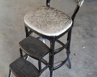 Vintage/retro mid century Cosco step stool chair