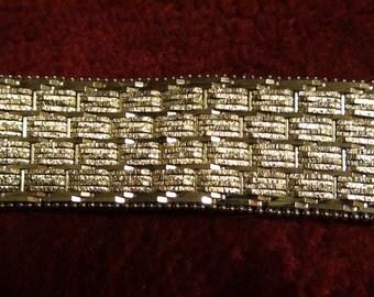 7inch 925 satin riccio bracelet