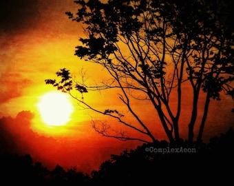 Meridian 8x10 Color Sunset Photo Print