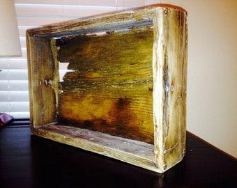 Vintage Rustic Shadowbox