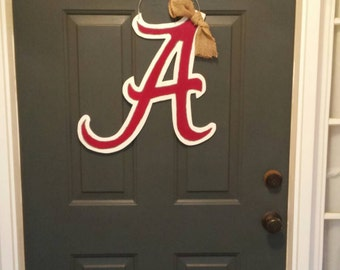 Alabama door hanger