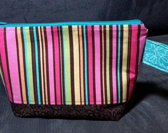 Project Bag Small Wedge, Knitting Bag