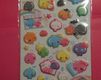 rare pudding Japan stickers